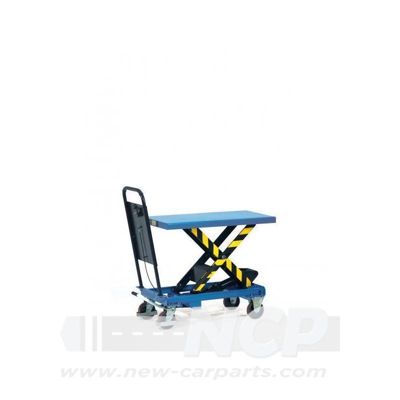 Hubtischwagen mit Hydraulikpumpe 700 kg