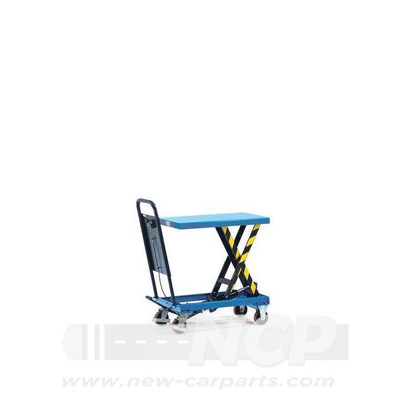 Hubtischwagen mit Hydraulikpumpe