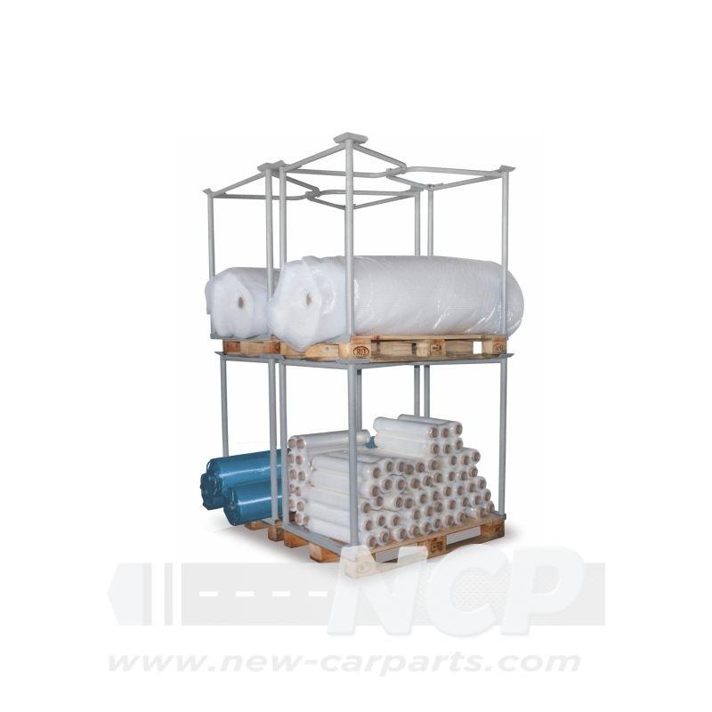 paletten aufsatz gitter f r palette 1200x1000x1600mm. Black Bedroom Furniture Sets. Home Design Ideas