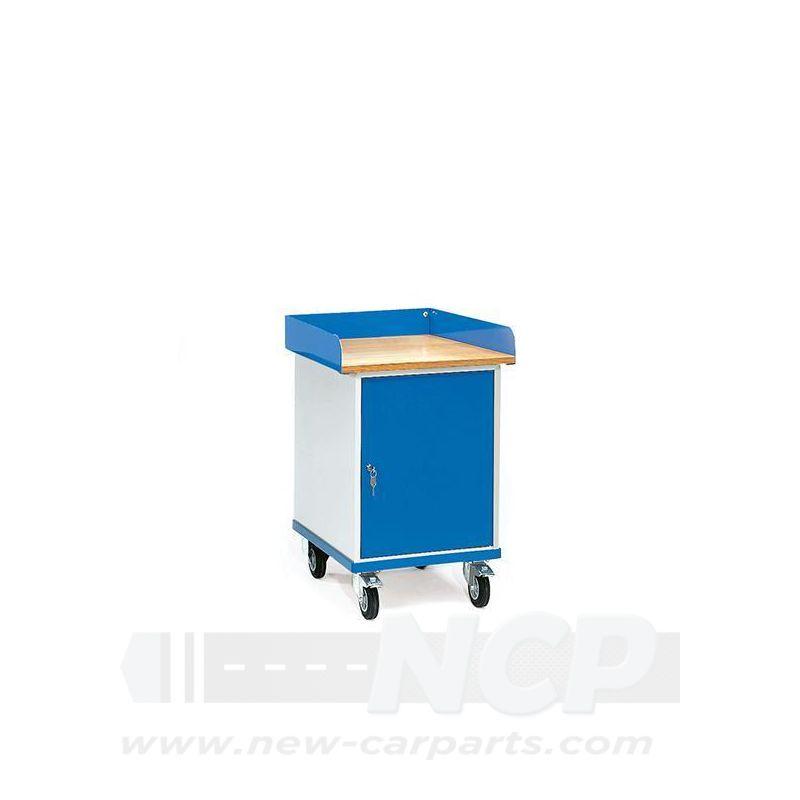 Rollschrank Werkstattschrank mit Arbeitsplatte
