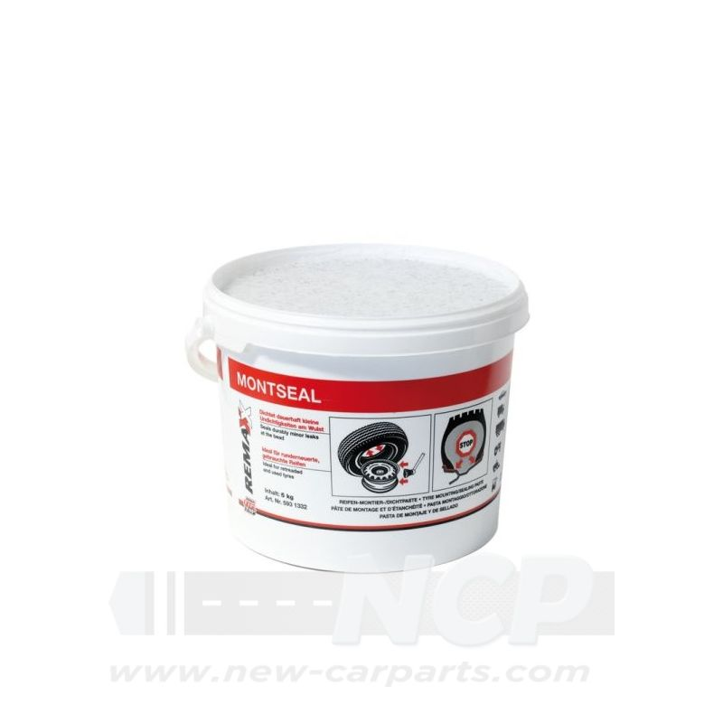 MONTSEAL Reifen-Montagepaste Wulst und Felge 5 kg