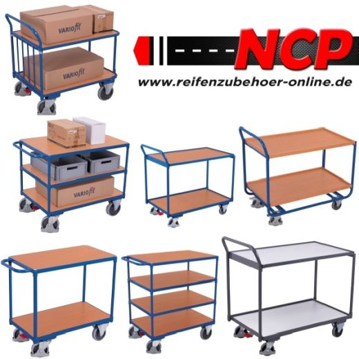 ALU Klappwagen Transport-Wagen 900x600mm