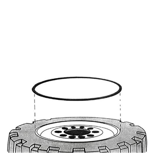 O Ringe Baufahrzeug Felgenringe 20 O Ringe Felgenringe 20 Zoll Tech O-Ringe Dichtungsringe Felgen Baufahrzeuge