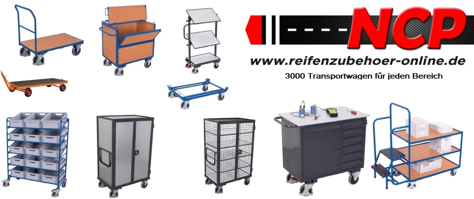 Transportwagen für Ihre Werkstatt